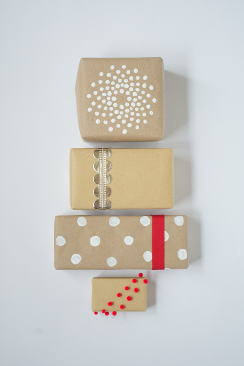 How to Dress Up a Plain Brown Paper Package | Design Mom