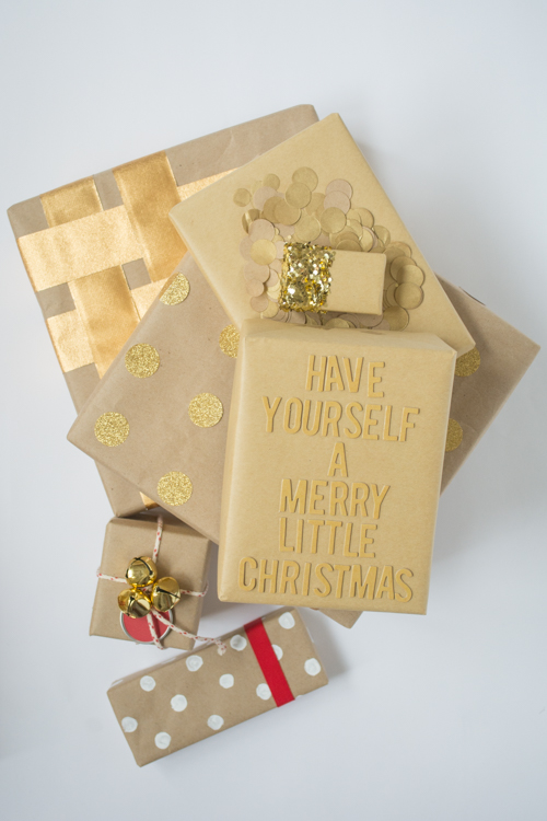 How to Dress Up a Brown Paper Package | Design Mom