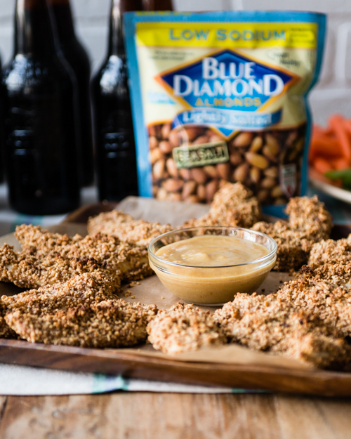 game day snacks with almonds-2