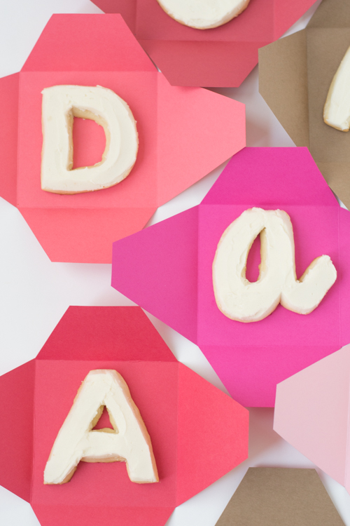 Edible Monogram Cookies for Your Valentine | Design Mom