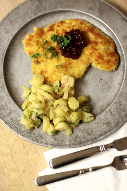 Schnitzel Recipe from renowned chef Markus Glocker. You can make this!