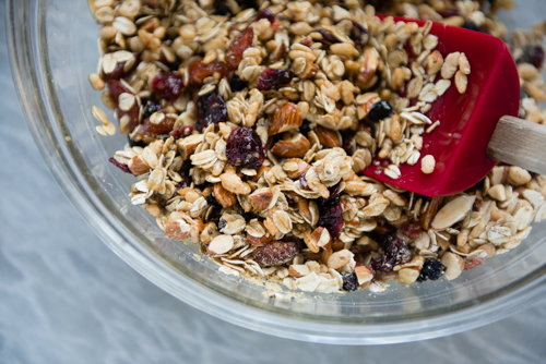 Instead of granola, let's turn this into granola bars!