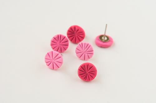 How To Make Polymer Clay Earrings Make Something Design Mom