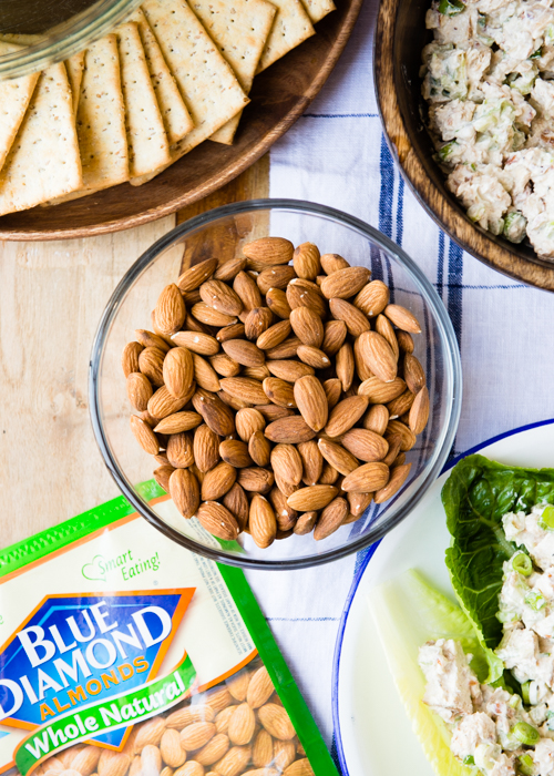 Chicken Salad with Blue Diamond Almonds-26