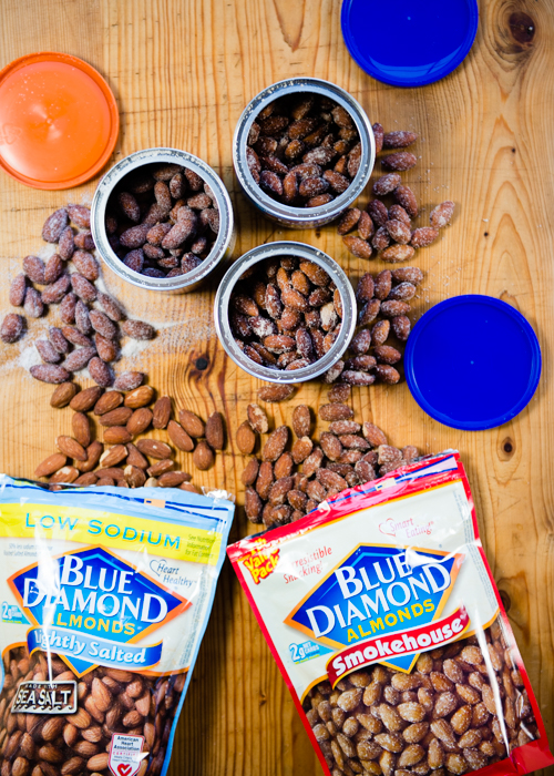 3 No-Cook, No Prep Dinner Party Menus, feauring Blue Diamond Almonds