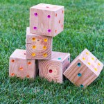 Make Yard Yahtzee for Your Family | Design Mom