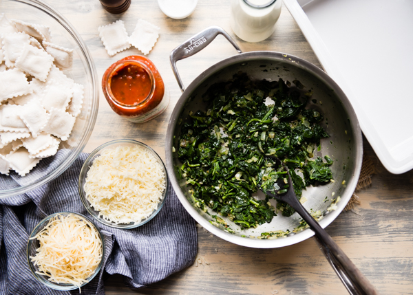 Plus up your easy lasagna with Frozen Spinach