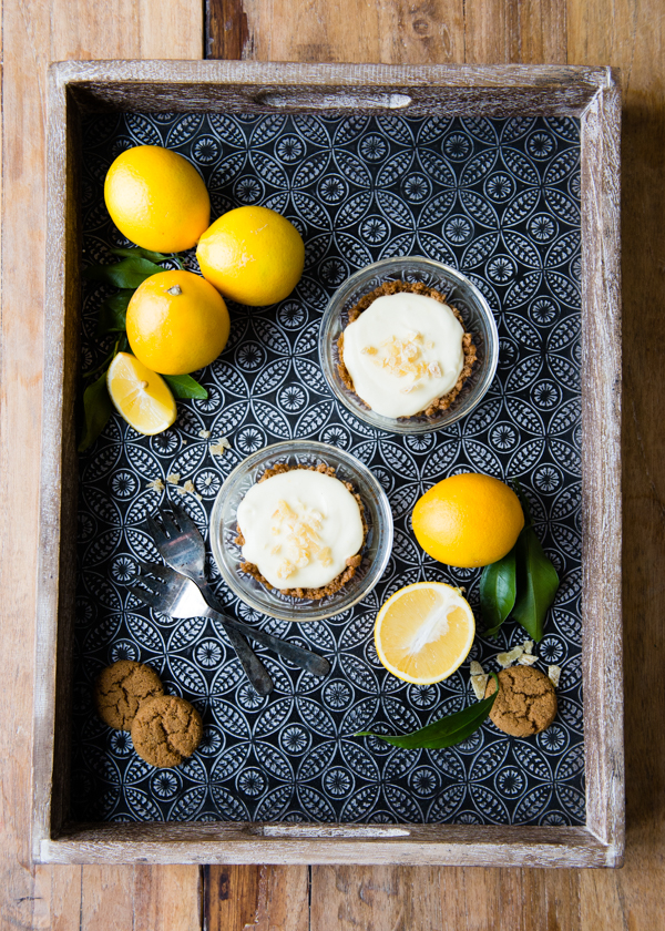 Delicious and easy lemon curd tarts for two | DesignMom.com