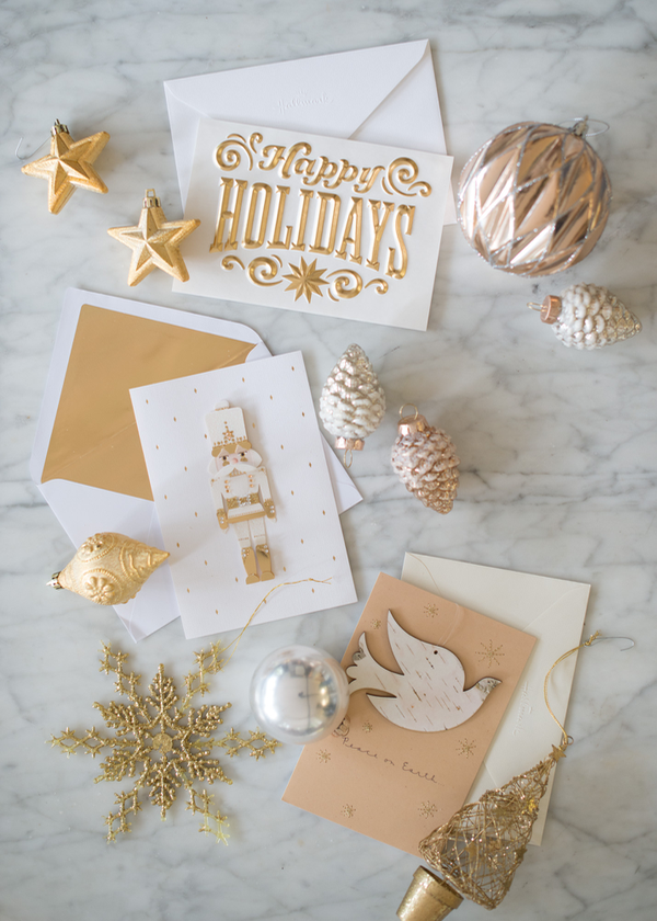 Luxe Holiday Cards from Hallmark