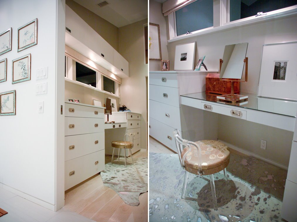 Be kind to mom space by guest mom lara fishman design mom - Dressing room small space ...