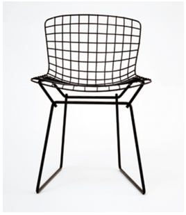 Attirant Oftentimes You Can Buy A Set Of Three Or Four. Another Favorite Of Mine Is  The Rene Bertoia Child Sized Wire Side Chair: