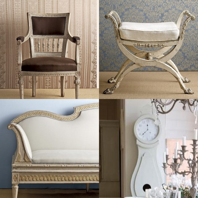 Merveilleux One Of My Favorite Styles In Interior Design Is The Gustavian Style. (Quick  History Lesson: The Style Was Named For King Gustav III, Who Ruled Sweden  From ...