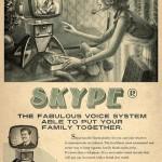 vintage skype advertisement