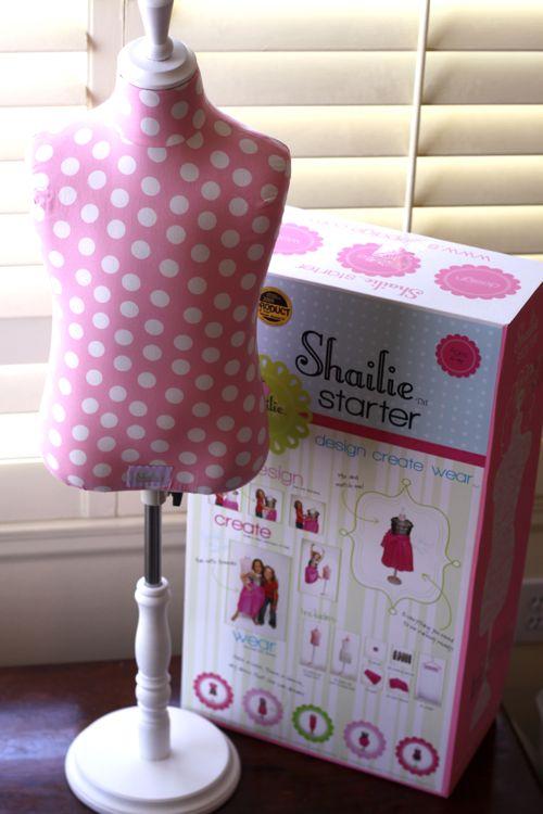 childsize dress form dress up toy Shailie