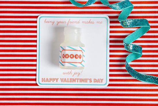bubble classmate valentines