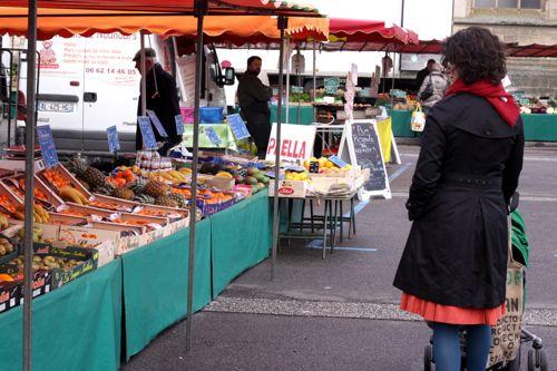 market in Argentan France