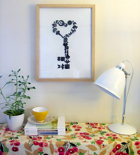 valentine key collage Design Sponge