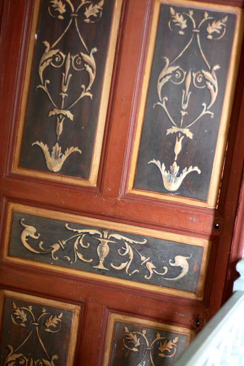 la cressonniere painted door
