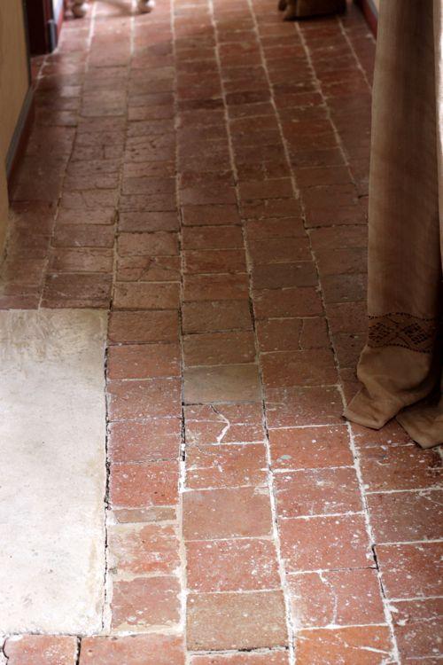 old stone floor