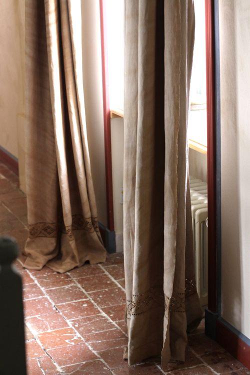 la cressonniere hallway curtains