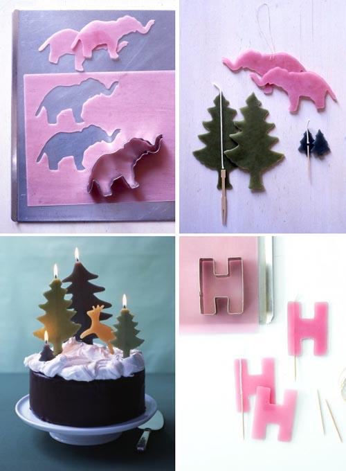 make your own birthday candles Martha Stewart