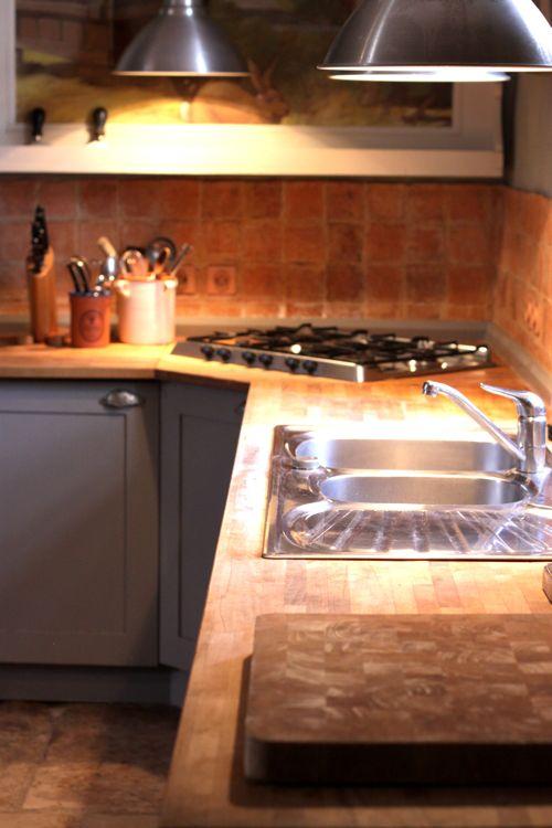 farmhouse kitchen in france