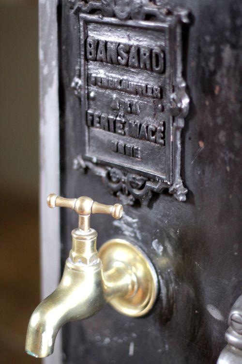antique stove french farmhouse