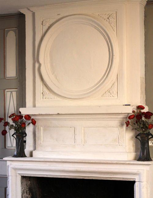 la cressonnière french farmhouse living room