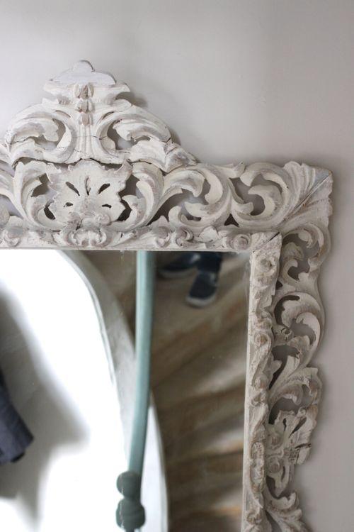 ornate mirror la cressonnière