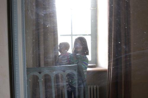 reflection in mirror la cressonnière