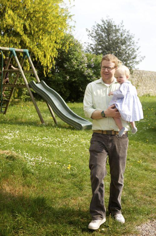 Ben Blair and Baby June