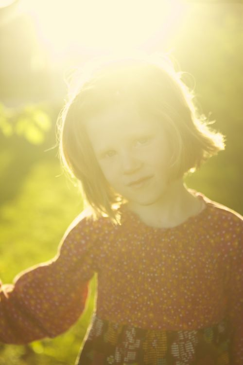 betty in the sun