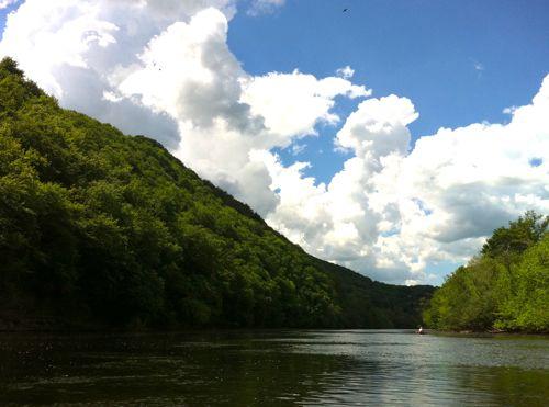 rafting on the dordogne