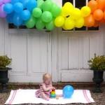 June Blair 1st Birthday