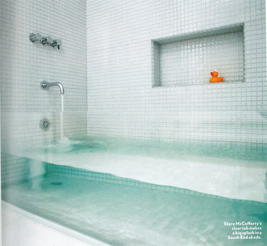 Clear glass bathtub design mom - Vasca da bagno in vetro ...