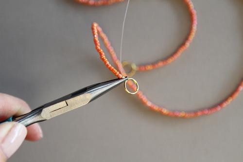 Diy Seed Bead Necklace Design Mom