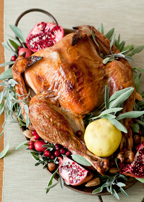 tutorial for the perfect Thanksgiving Turkey | 7 Secrets For a Juicy Thanksgiving Turkey featured by top lifestyle blog, Design Mom
