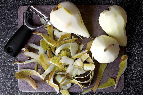 Pears via Smitten Kitchen
