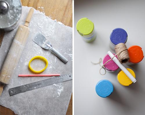 DIY Salt Dough Easter Eggs featured by popular lifestyle blogger, Design Mom