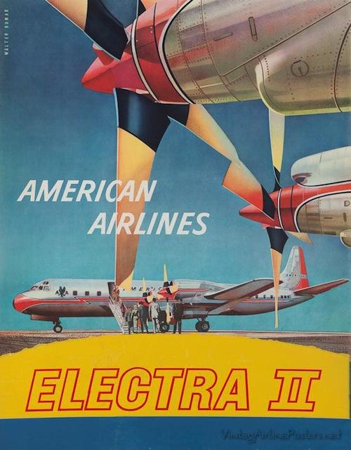 Vintage Airline Poster 1