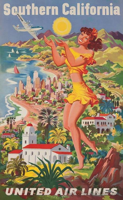 Vintage Airline Poster 3
