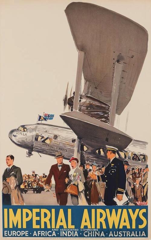 Vintage Airline Poster 4