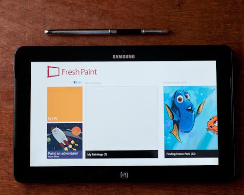 fresh-paint-app-start-screen