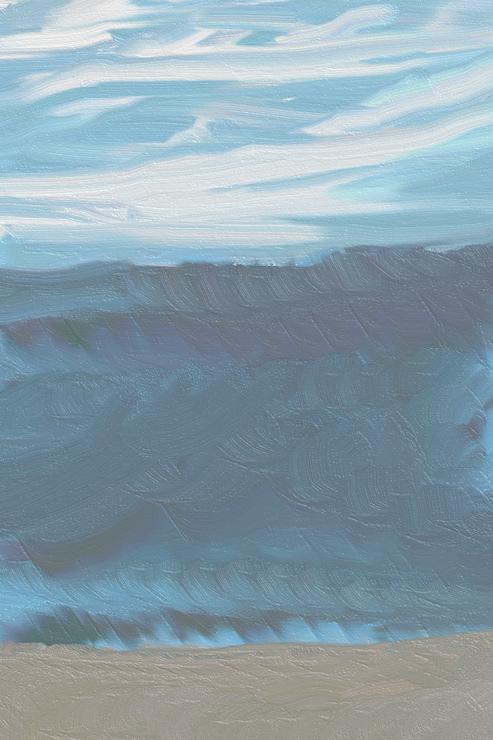 ocean beach sky