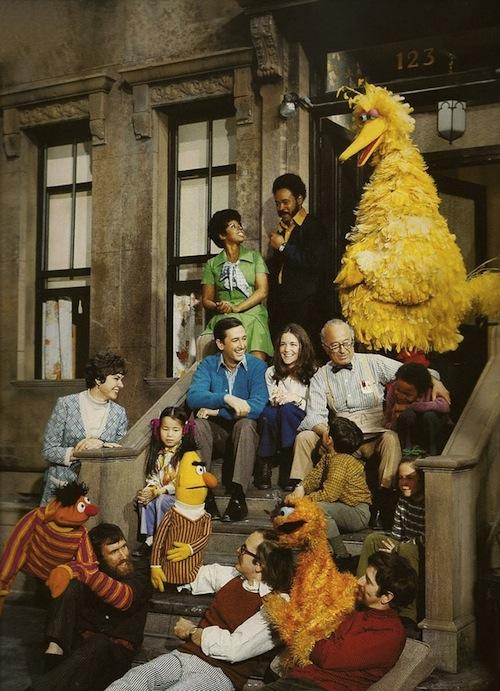 original sesame street-cast