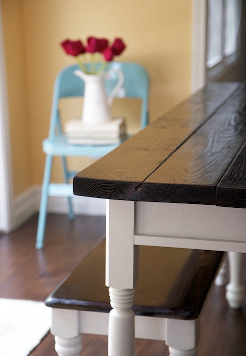 kitchen tables at DesignMom.com