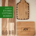Etched Cutting Board tutorial featured on top lifestyle blog, Design Mom