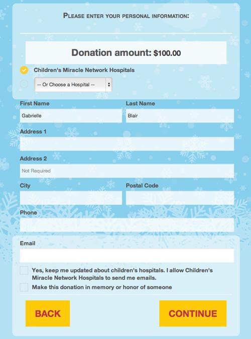 CMN Hospitals Donate Screen 4