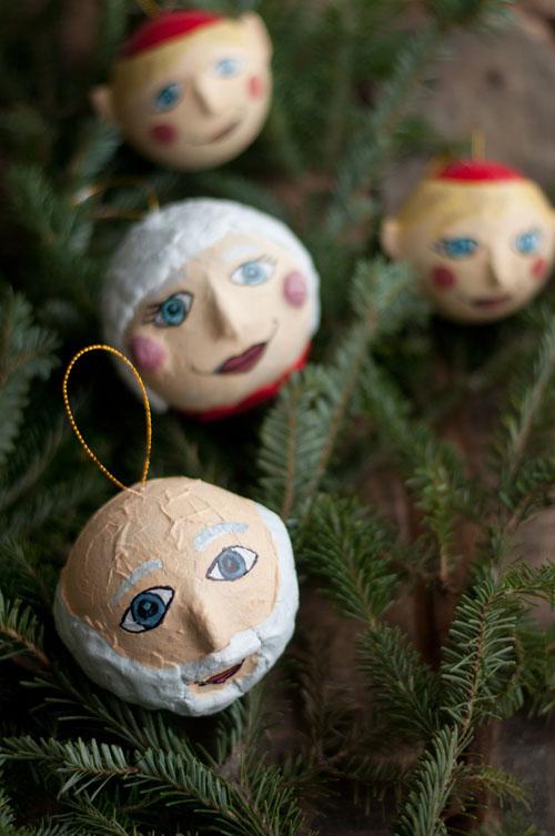 162 Best Christmas Paper Mache Santas images | Paper mache ... | 753x500
