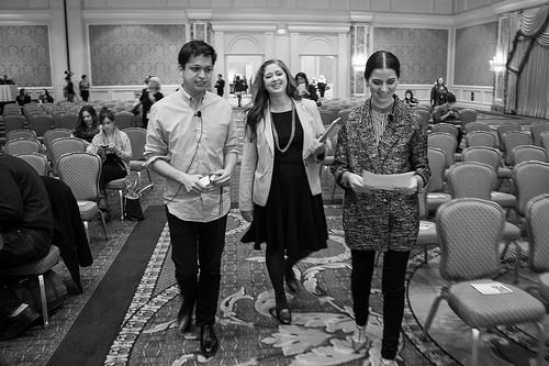Ben Silbermann, Sara Urquhart and Gabrielle Blair. Alt Summit Keynote, January 2014.